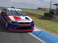 Ford V8 Supercar at Phillip Island