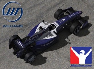 Produced by iRacing under license from Williams Grand Prix Engineering Ltd (WGPE). The Williams name and logo are trademarks owned by WGPE. Williams images © 2010 WGPE. All rights reserved.