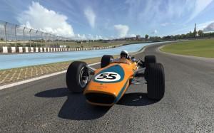 lotus 49 on track