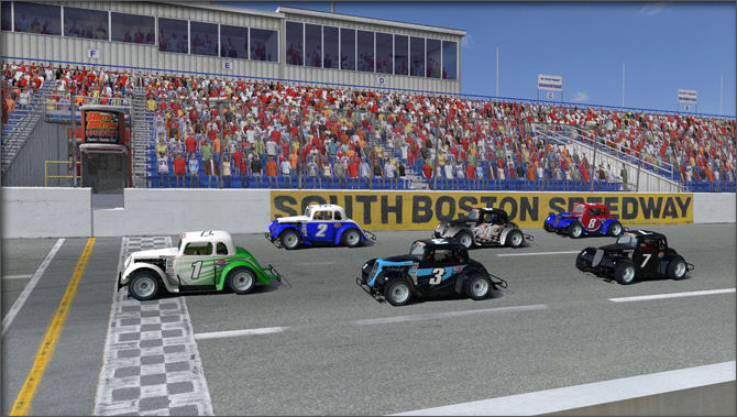 Legends Ford 34 Coupe Motorsport Simulations