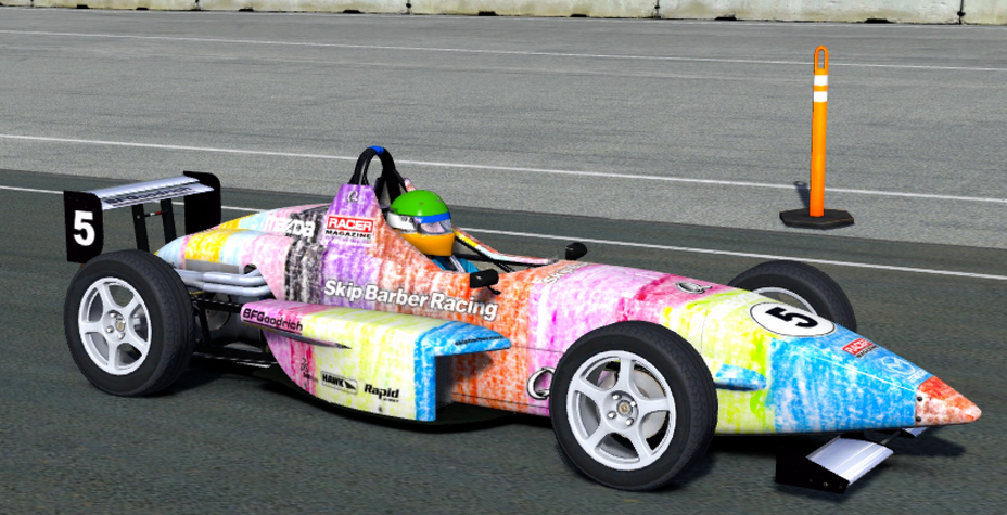Kids Paint Iracing Car