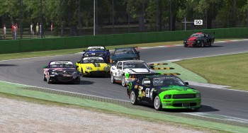 Ninety minutes of racing provided plenty of high-intensity mixed-class racing excitement at Monza.