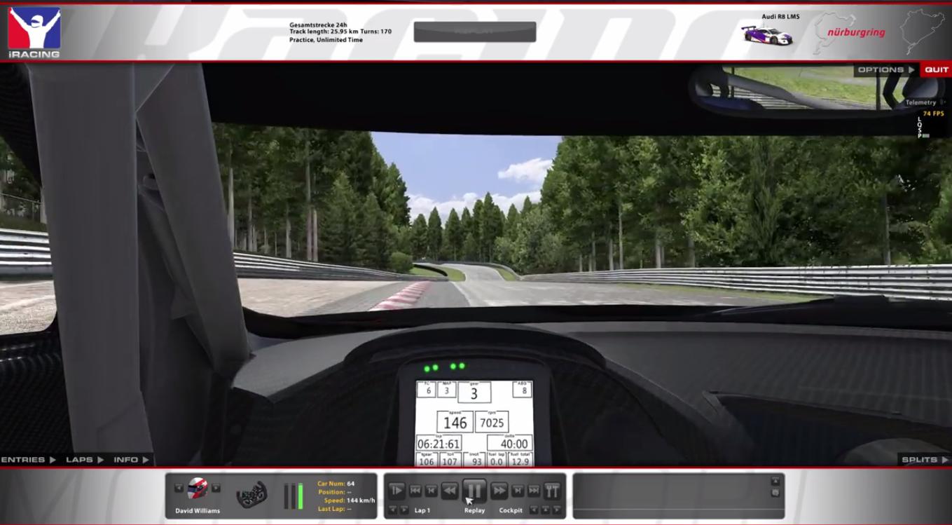 virtual racing school