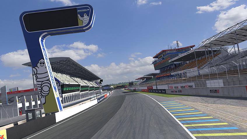 IRacing Le Mans Race Track Circuit Des 24 Heures Du