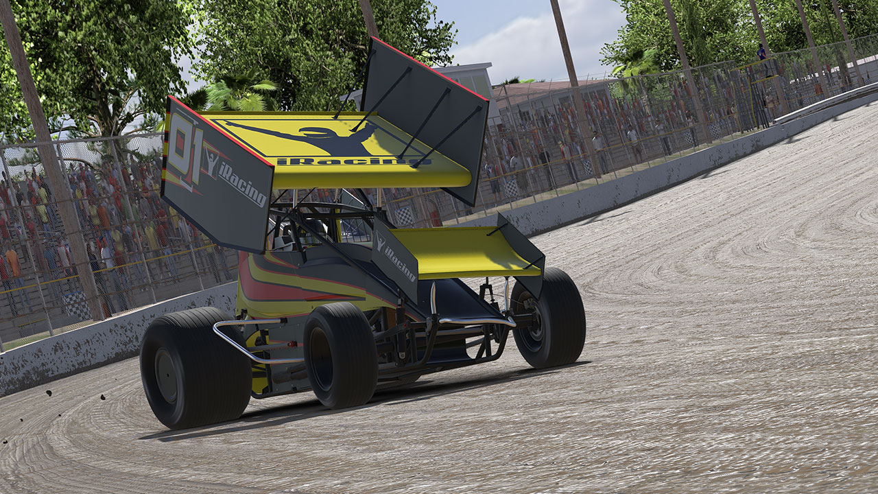 World Of Outlaws 410 Sprint Car Motorsport Simulations