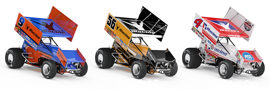 Sprint Race Game Stock Car