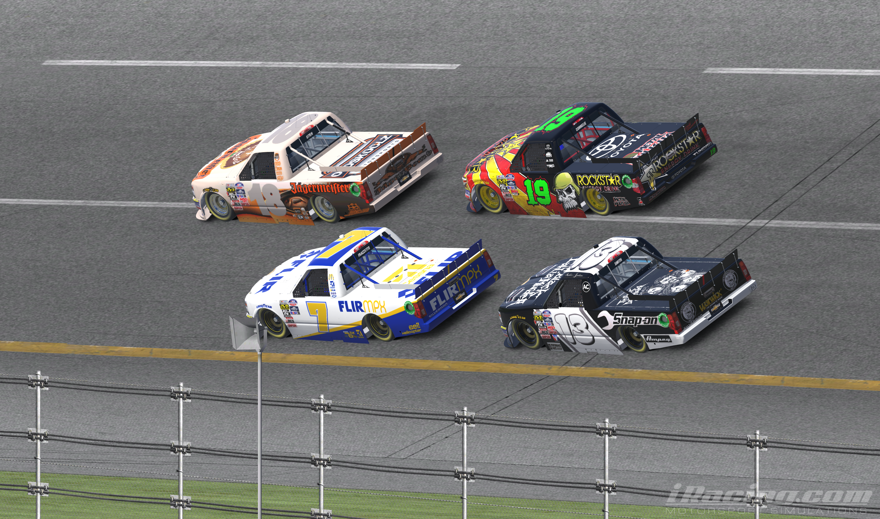 From a dig motorsports tough trucks dega dancin iracing when i got home i found me another dancin partner it came in the way of a digital race truck iracing me sitting at my cherry colored desk hexwebz Image collections