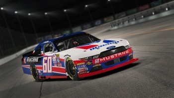 Majeski's NASCAR Xfinity Series car in iRacing