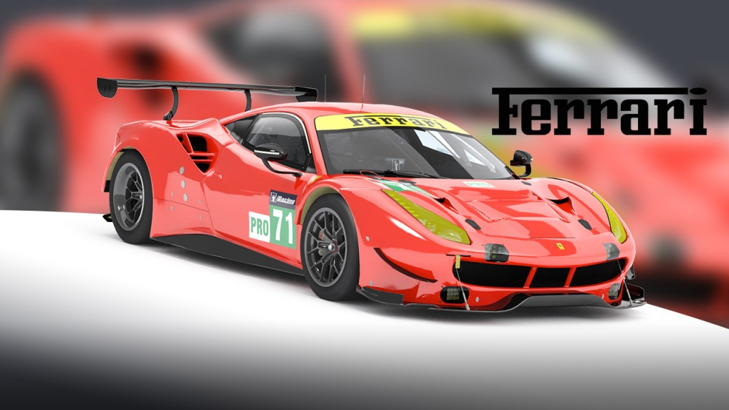 Ferrari 488 Tile Public Site