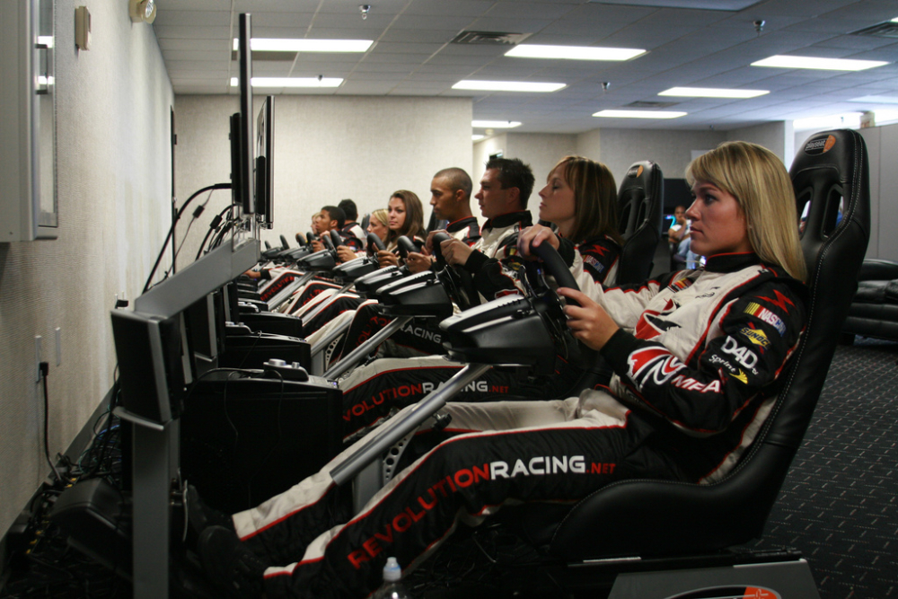 nascars-revracing-training-room