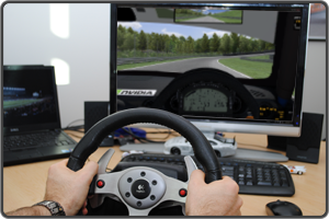 Simracing at your desk
