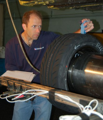 Dave-Checks-Tire-at-Calspan