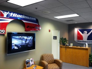 iRacing Office Shot