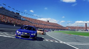iRacing now has Fords and Chevrolets racing against each other in official NASCAR series.