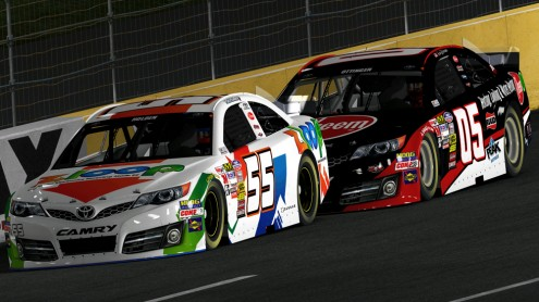 05 and 55 at Charlotte