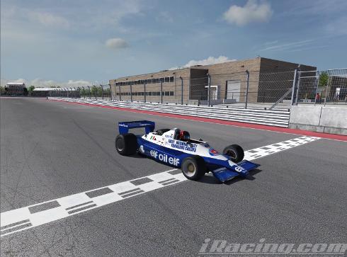 Andrea Ventura finishes 2nd