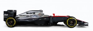 MP4-30 Side - McLaren Honda -