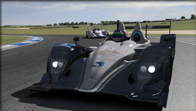 photo of honda hpd arx 01c prototype race car