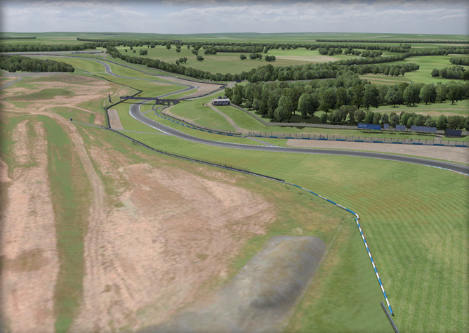 Donington Park Circuit - iRacing.com | iRacing.com Motorsport Simulations