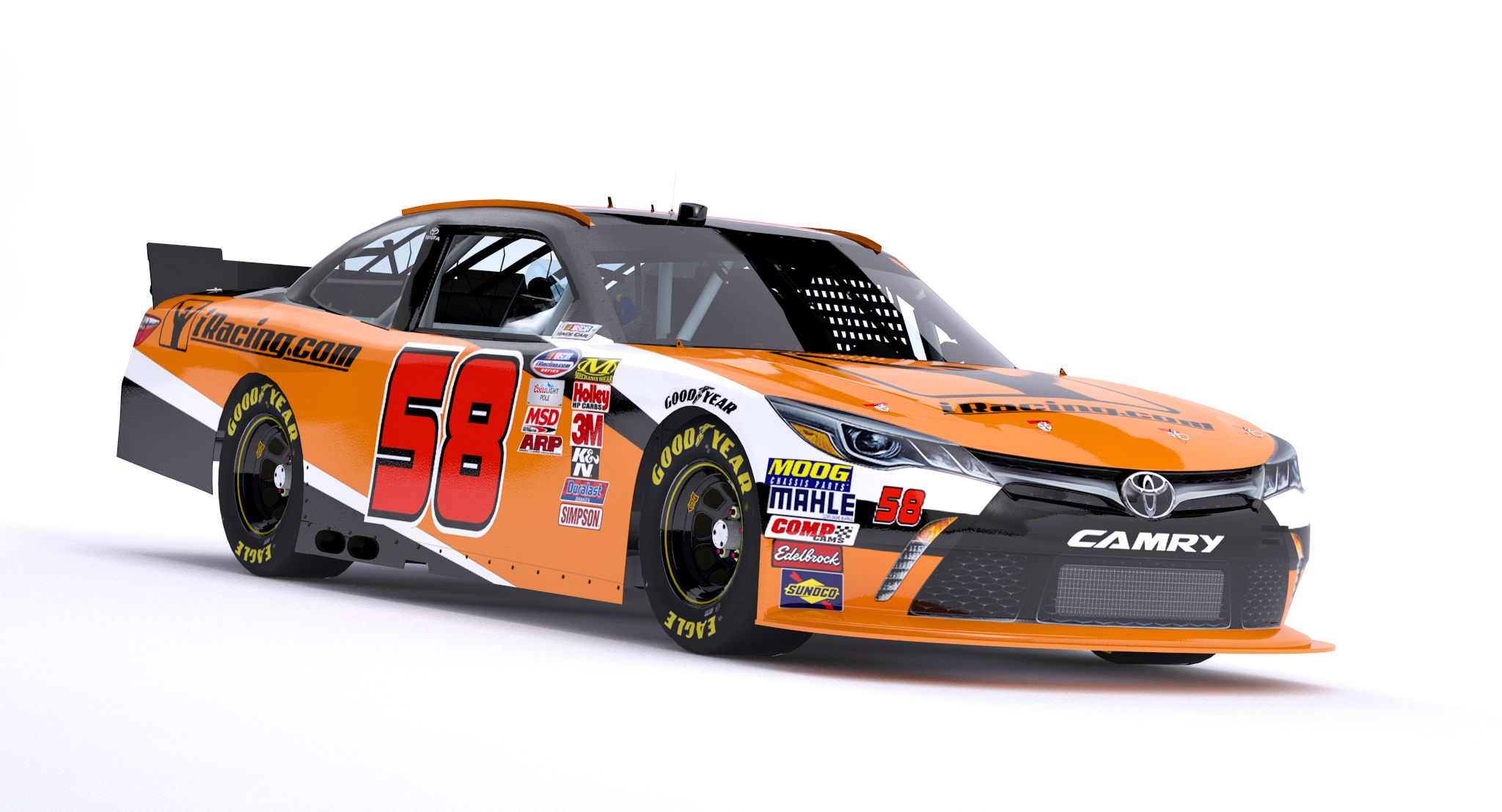 Xfinity Series Toyota Camry Joins Iracing S Nascar Lineup