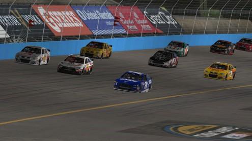 racing at Phoenix