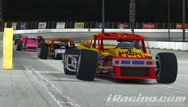 Hoose led wire-to-wire to win the Outlaw 75 at USA International Speedway.