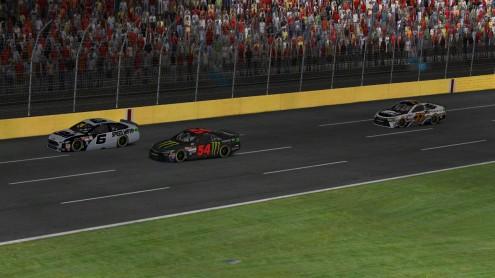 racing at Charlotte