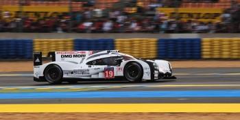 Le Mans winning Porsche 2015