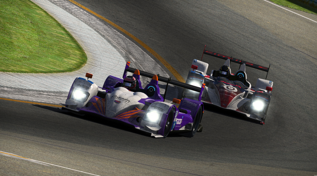 Race position swaps in the lead battles