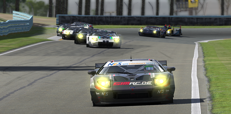The SimRC.de Ford GT was streets (and laps) ahead of the competition at The Glen.