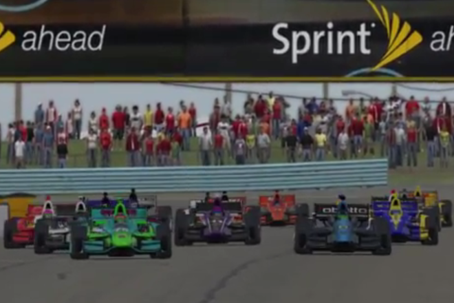 Indy racing at Watkins Glen is a dream for some but a reality on iRacing.