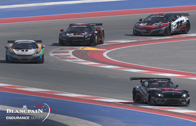 Navigating the Circuit of The Americas with a full field of cars around you is no easy task.