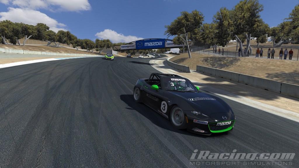 The European MX-5 Cup kicked-off at Mazda Raceway Laguna Seca.