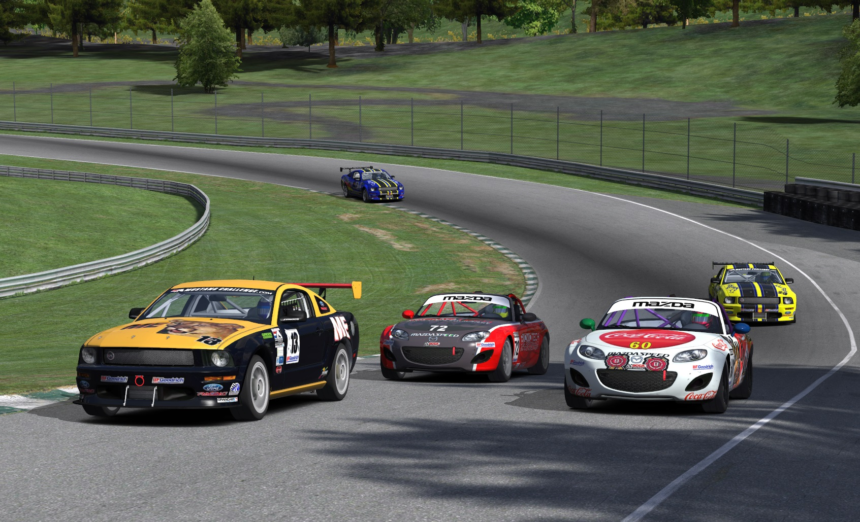 Xtreme League Takes on Long & Short of iRacing Tracks