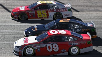 We saw a ton of 3-wide action through the entire race