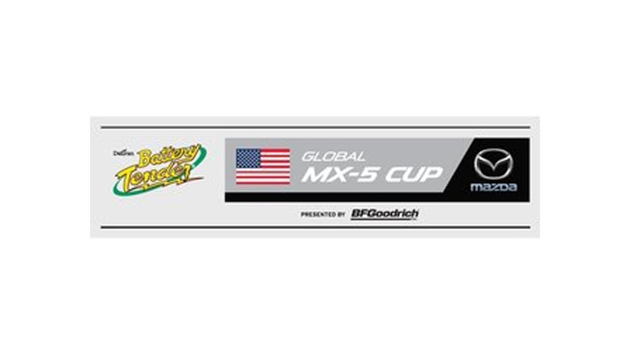 Battery Tender Global MX-5 Cup