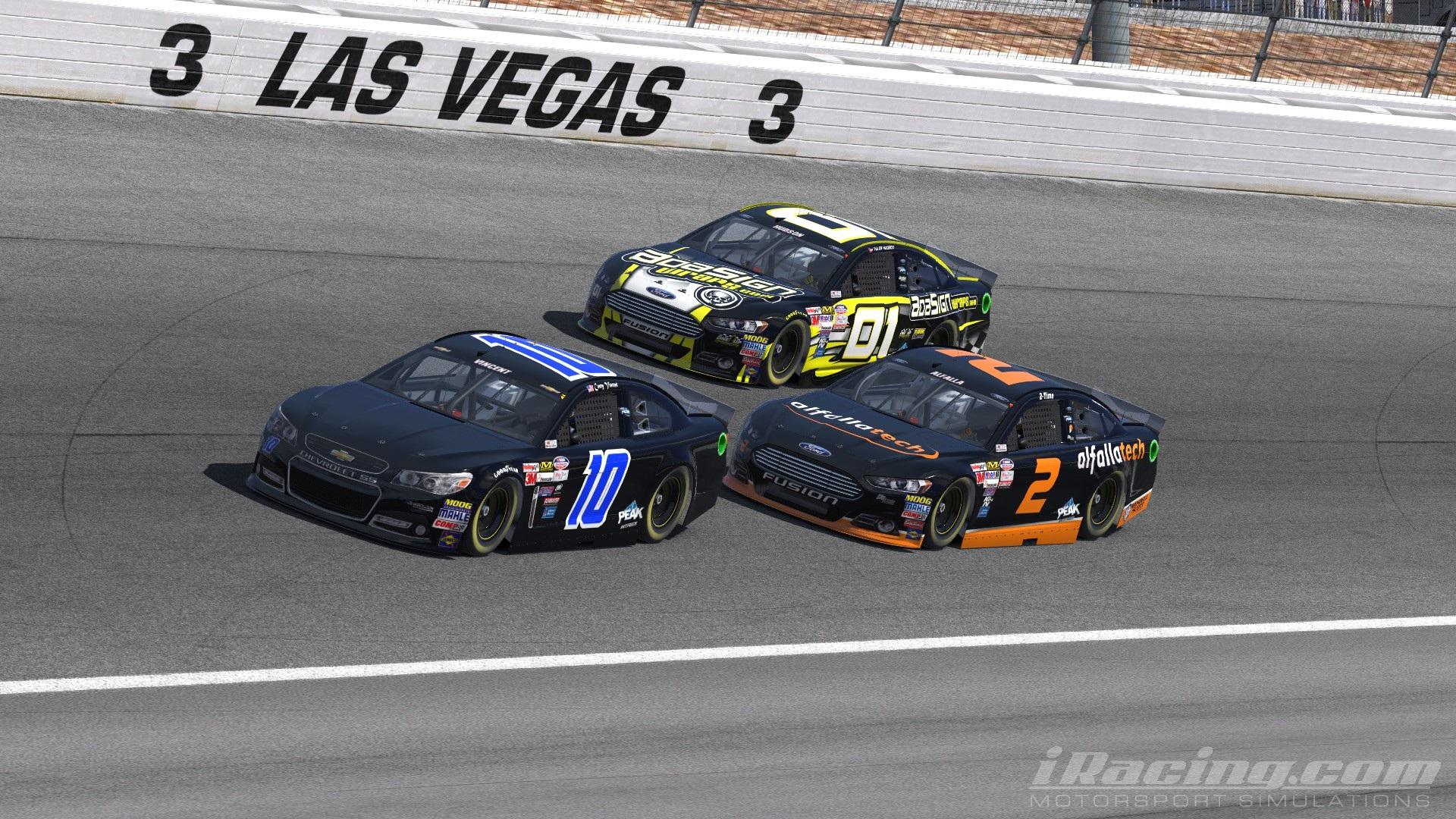 Vincent Takes Nascar Victory At Las Vegas Iracing Com