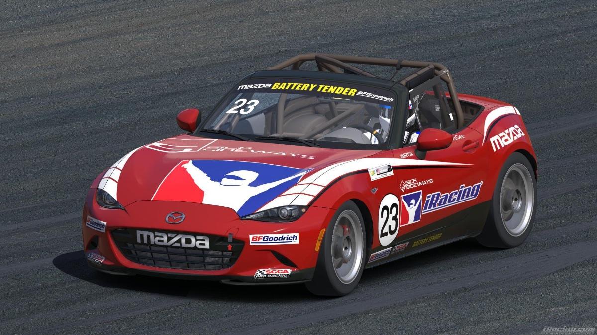 Mazda MX Racer Glenn McGee Crosses Over To Reality IRacingcom - Mazda racing series