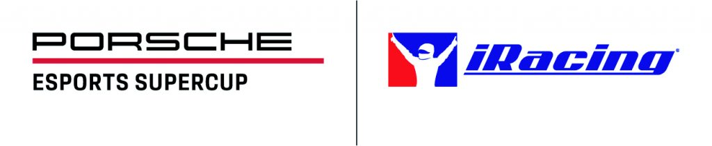 Porsche Esports Supercup logo featuring the Porsche GT3 Cup