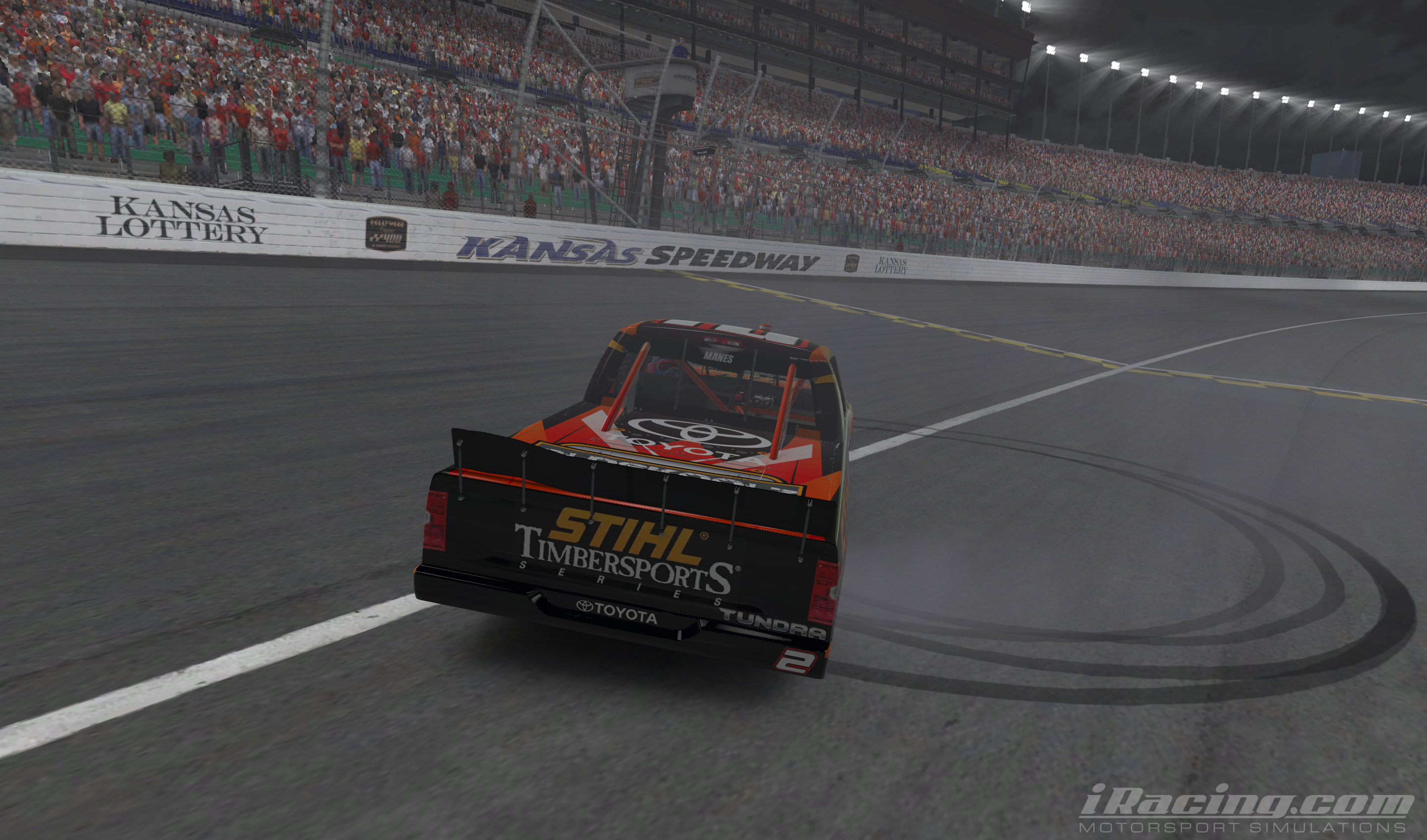 Manes Cyclones to Victory at Kansas - iRacing.com | iRacing.com ...