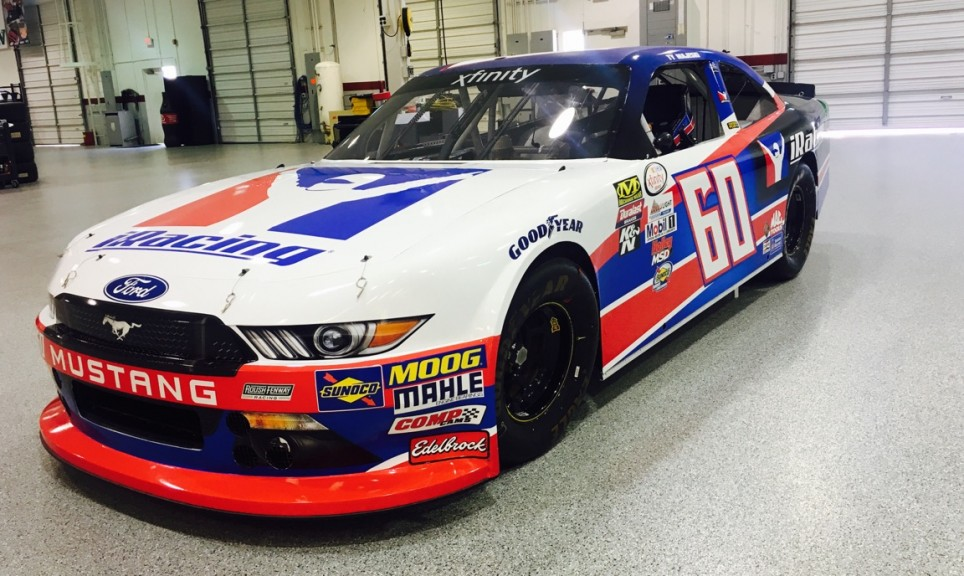 Majeski's NASCAR Xfinity Series car at Roush Fenway Racing in NC.