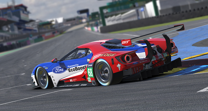 ford gt gte motorsport simulations. Black Bedroom Furniture Sets. Home Design Ideas