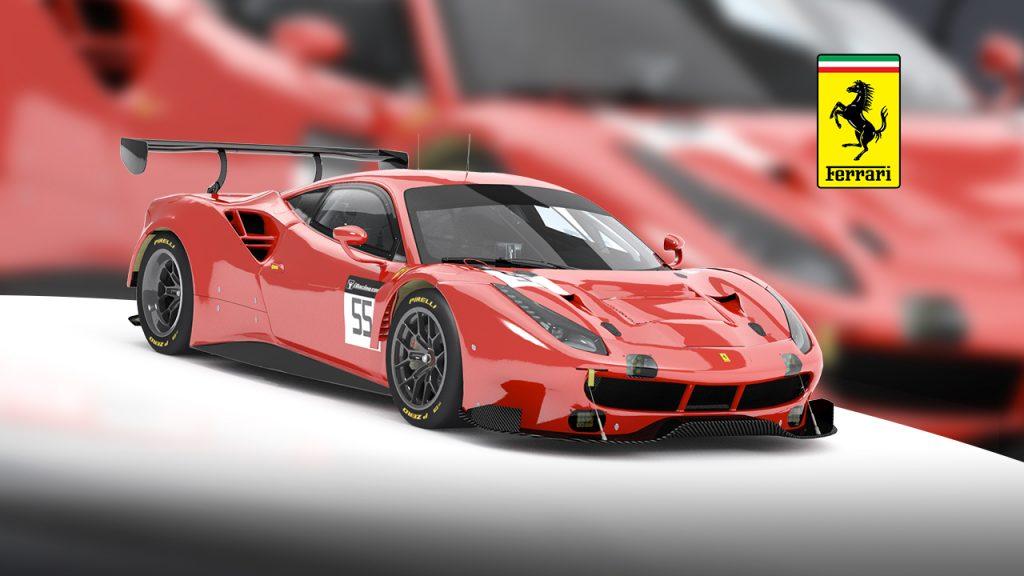Ferrari 488 GT3 , iRacing.com