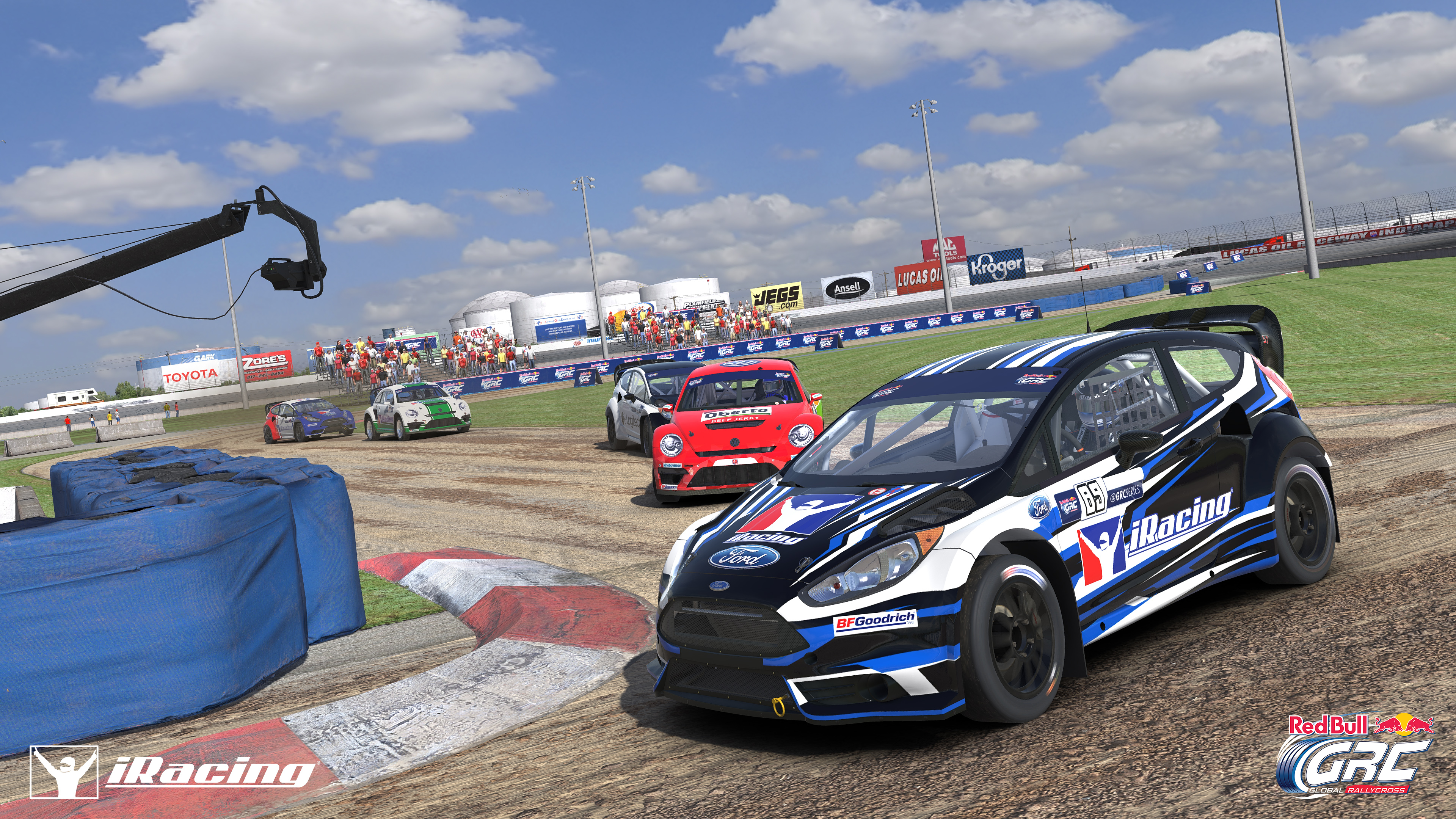 Red Bull Global Rallycross And Iracing Team Up To Bring