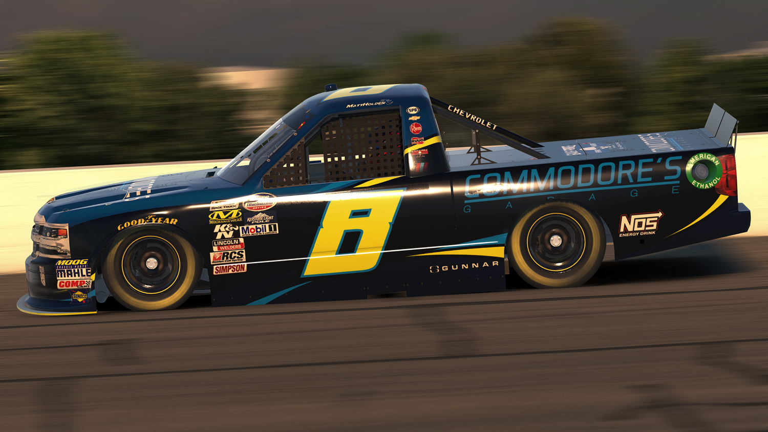 Commodore\'s Garage #33 - Truck Project: Lucas Oil Raceway - iRacing ...