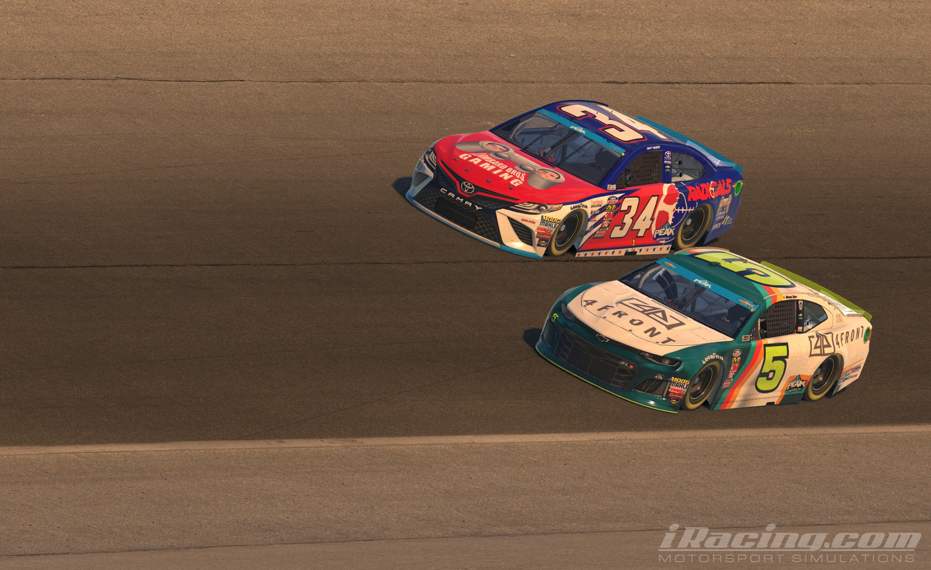 NASCAR PEAK Antifreeze iRacing Series
