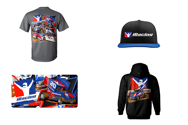 R R Racewear offers a selection of custom designed and printed iRacing  merchandise here. 69158273eaa