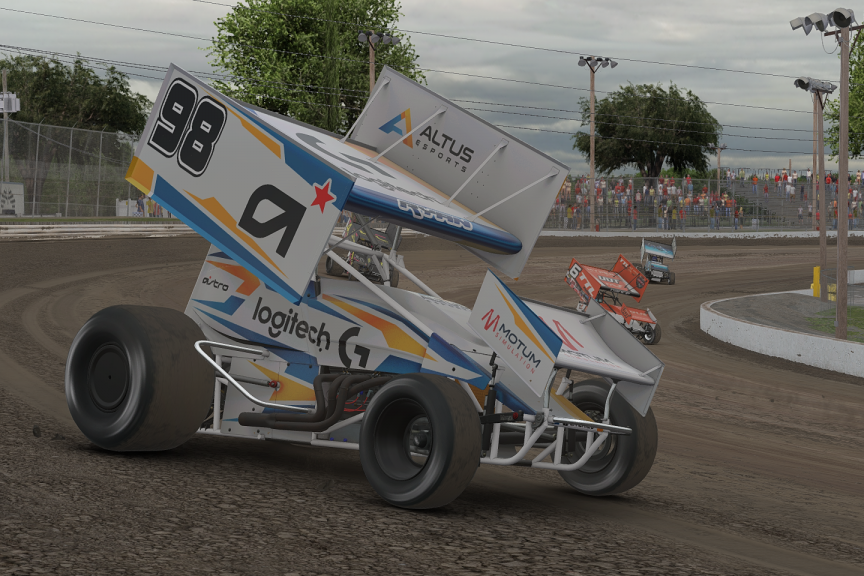 Sprint Roanoke Va >> 2019 Iracing World Of Outlaws Nos Energy Drink Sprint Car