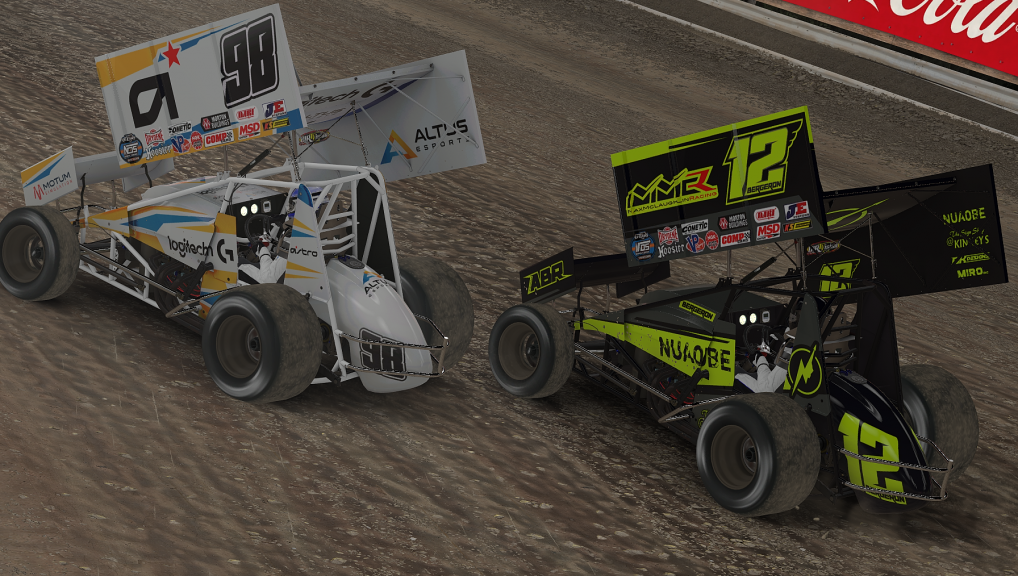 Tim Ryan Snaps Streak of Bad Luck in iRacing World of Outlaws Sprint