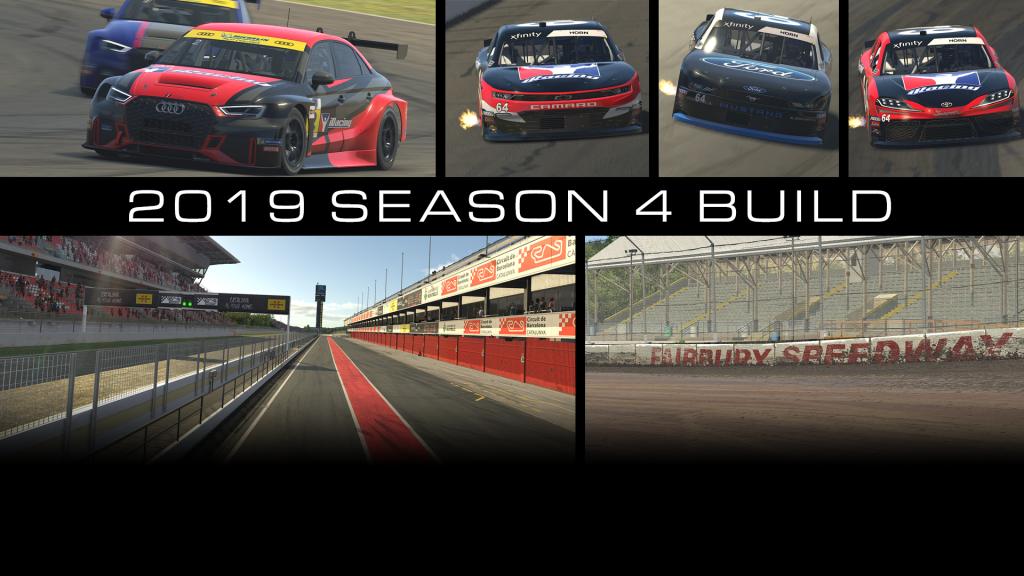 2019 Season 4 Build Available Now! - iRacing com | iRacing